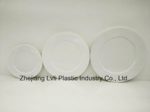 Plastic Plate, Disposable, Tableware, Tray, Dish, Colorful, PS, SGS, Environmentally Friendly, PB-01