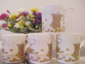 14 Oz Big Capacity of Ceramic Milk Mugs pictures & photos