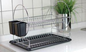 Kitchen Drying Storage Dish Rack Stainless Steel Kitchen Storage Rack for Kitchen pictures & photos