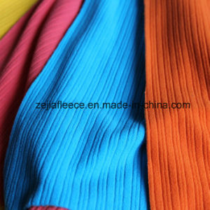 Stripe Fleece Fabric with Drop Needle pictures & photos