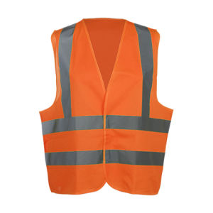 100% Polyester Reflective High Visibility Traffic Safety Vest
