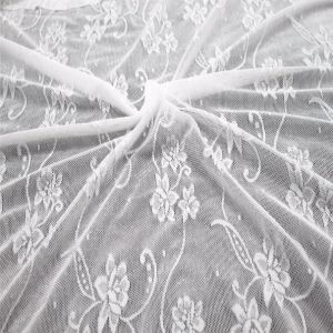 French Style Wholsale Textiles Tulle Fabric Lace pictures & photos