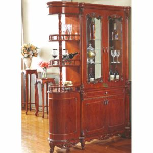 Living Room Cabinets with Wood Wine Cabinet and Cellaret pictures & photos
