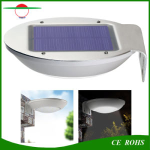 New Style Radar Motion Sensor Dim Mode Deck Solar Lights 16 LED Garden Wall Light Mini Street Lamp pictures & photos