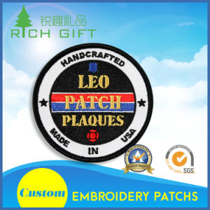 Custom High Quality Fine Professional Embroidery Patch for Association pictures & photos