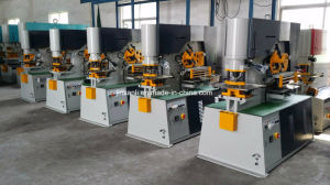 Hot Sale Ironworker Hydraulic Operate Machine pictures & photos