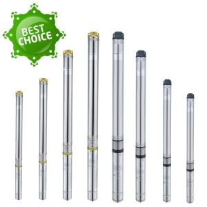 4 Inches High Quality Stainless Steel Deep Well Submersible Pump pictures & photos