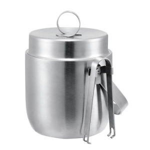 Customized 1.2L Double Layer Stainless Steel Ice Bucket for Sale pictures & photos
