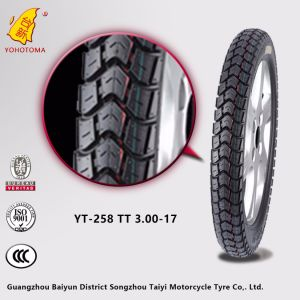 High Teeth Motorcycle Tires for Sale 300-17 pictures & photos