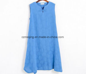 Chinese Style Women`S Cotton Dress