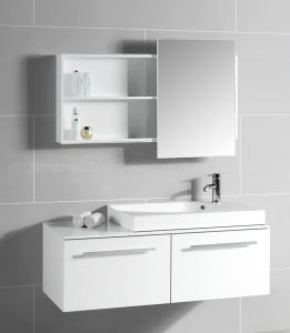 Big Size MDF Vanity with Mirror Cabinet pictures & photos