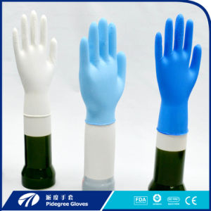 Disposable Nitrile Exam Gloves with Blue Color (NGBL-PFM 3.5) pictures & photos
