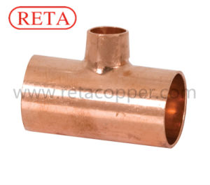 Reducing Tee Copper Fitting ASME B16.22 pictures & photos