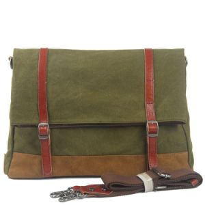 Cheap Design Canvas Leisure Shoulder Shcool Bag (RS-8587) pictures & photos
