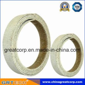 White Color Resin Based Woven Brake Lining Roll
