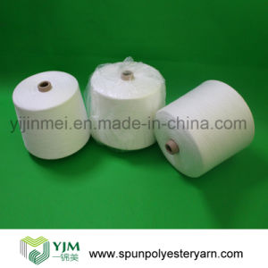 Paper Cone Polyester Spun Yarn for Suits and Shirts pictures & photos