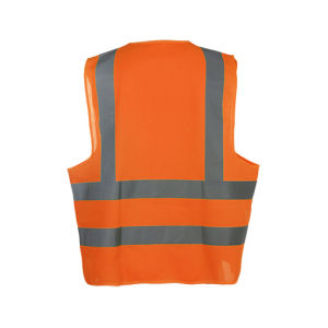 100% Polyester Reflective High Visibility Traffic Safety Vest pictures & photos