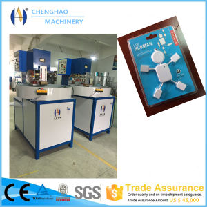 5kw Auto-Turntable Three Working Stations Blister Packing Machine/Sealing Machine