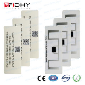 Campuses Access Control RFID Windshield Tag Label pictures & photos