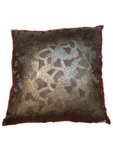 Sr-C170521-3 Filled Laser PU Decorative Cushion pictures & photos