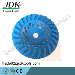 Jdk Turbo Segment Diamond Concrete Ginding Cup Wheel pictures & photos