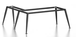 Black Customized Metal Steel Office Executive Desk Frame with Ht80-2 pictures & photos