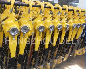 Lifting Equipment 0.75-9ton Lever Chain Block pictures & photos