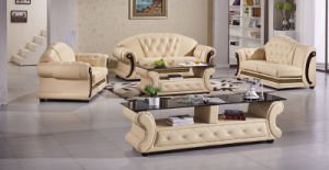 Modern Living Room Sectional Sofa Leather Sofa pictures & photos