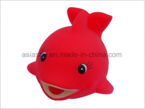 Vinyl Red Marine Life Squirt Toy pictures & photos