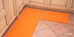 Home Kitchen Use Waterproof PVC Coil Mat Floor Mat pictures & photos