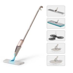 Spray Mop with 5 Special Mop Head pictures & photos