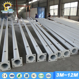Hot DIP Galvanized Street Light Pole with Single Arm pictures & photos