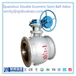 Manual Operating Fixed Type Semi Ball Valve (Germany C type Ball Valve) pictures & photos