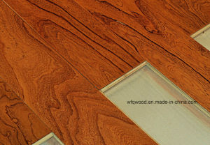 802 Multilayer Elm Wood Flooring pictures & photos