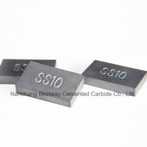 Tungsten Carbide Ss10 Tips Used for Cutting Stone (20mmx12mmx3.4mm) pictures & photos