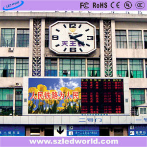 P10 Multi Color Outdoor LED Display Sign Board at Station pictures & photos