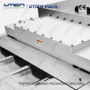Automatic Thermoforming Vacuum Map Packaging Machine for Pinenuts Weighing Filling System pictures & photos