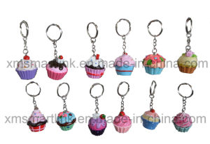 Sculpture Figurine Cake Keyring Promotion Gifts pictures & photos