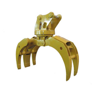 Excavator Hydraulic Grapple for Wood and Stone pictures & photos