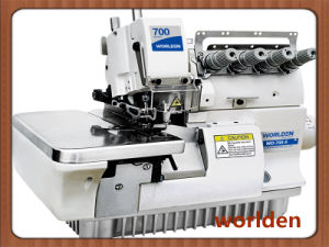 Wd-700-5 Super High-Speed Five Thread Sewing Machine pictures & photos