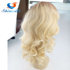 High Quality Chinese Remy Hair Full Lace Body Wave Wig pictures & photos
