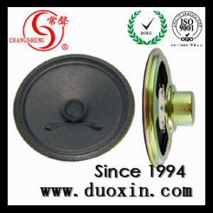 77mm 8ohm 0.5W Alarm Paper Car Speaker Best Factory Dxyd77n-22z-8A pictures & photos