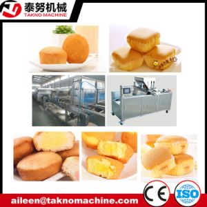 Big Capacity Sandwiching Cake Production Line pictures & photos