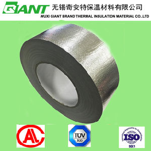 Solvent-Based Acrylic Adhesive Fiberglass Cloth Aluminum Foil Tape pictures & photos