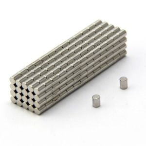 Strongest Grade Sintered Cylinder Permanent Neodymium Magnets pictures & photos