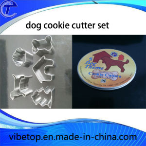 Bakeware Stainless Steel Cookie Cutter with Tin Box pictures & photos