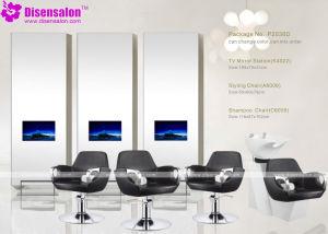 Popular High Quality Salon Furniture Mirror Barber Salon Chair (P2038E) pictures & photos