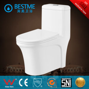 2017 New Design Wc Toilet with Powerfull Flushing System (BC-2010) pictures & photos