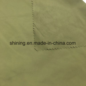 Army Green 100% Polyester Fabric for Waterproof Jackets/Garments pictures & photos