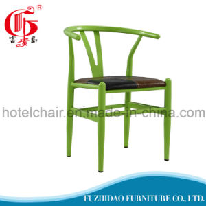 Home Furniture Metal Living Room Y Chair with PU Cushion pictures & photos